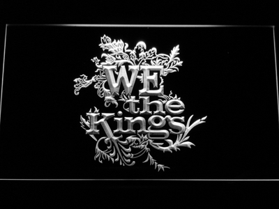 We The Kings LED Neon Sign - White - SafeSpecial
