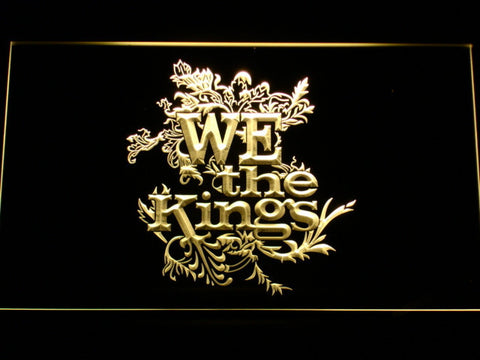 Image of We The Kings LED Neon Sign - Yellow - SafeSpecial
