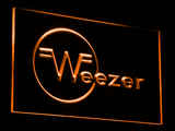 Weezer LED Neon Sign - Orange - SafeSpecial