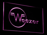 Weezer LED Neon Sign - Purple - SafeSpecial