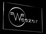 Weezer LED Neon Sign - White - SafeSpecial
