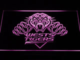 Wests Tigers LED Neon Sign - Purple - SafeSpecial