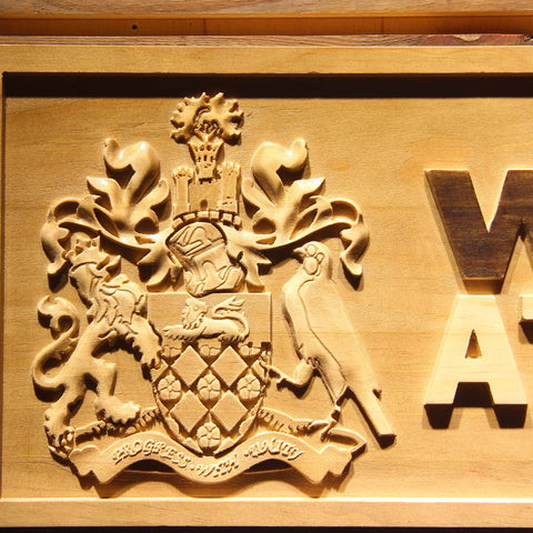 Wigan Athletic FC Wooden Sign - Legacy Edition - - SafeSpecial