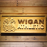 Wigan Athletic FC Wooden Sign - Legacy Edition - Small - SafeSpecial