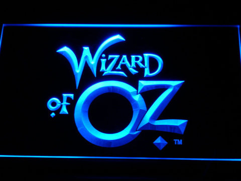 Image of Wizard of Oz LED Neon Sign - Blue - SafeSpecial