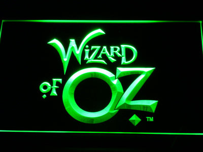 Wizard of Oz LED Neon Sign - Green - SafeSpecial