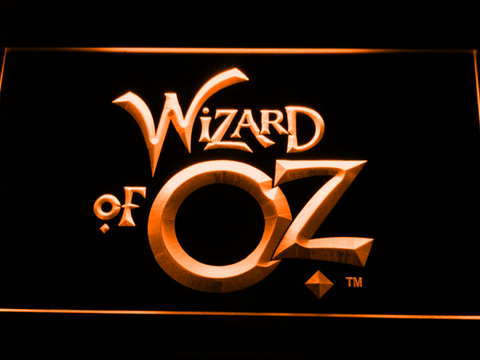 Image of Wizard of Oz LED Neon Sign - Orange - SafeSpecial