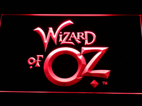 Image of Wizard of Oz LED Neon Sign - Red - SafeSpecial