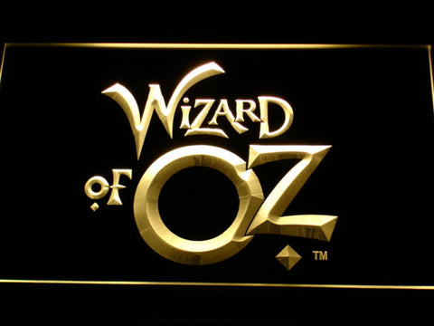 Image of Wizard of Oz LED Neon Sign - Yellow - SafeSpecial