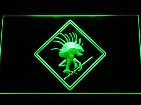 Image of World of Warcraft Murloc LED Neon Sign - Green - SafeSpecial