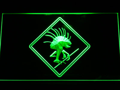 World of Warcraft Murloc LED Neon Sign - Green - SafeSpecial