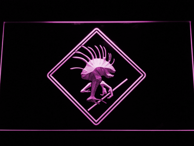 World of Warcraft Murloc LED Neon Sign - Purple - SafeSpecial