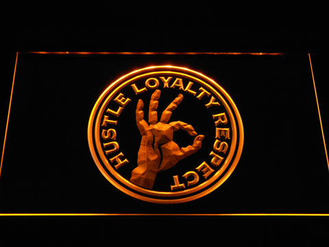Wwe John Cena Hustle Loyalty Respect Led Neon Sign Safespecial