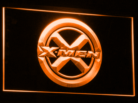 Image of X-Men LED Neon Sign - Orange - SafeSpecial