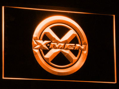 X-Men LED Neon Sign - Orange - SafeSpecial