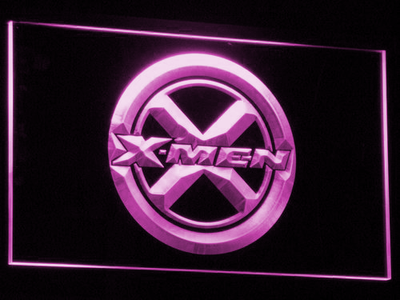 X-Men LED Neon Sign - Purple - SafeSpecial