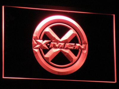 X-Men LED Neon Sign - Red - SafeSpecial