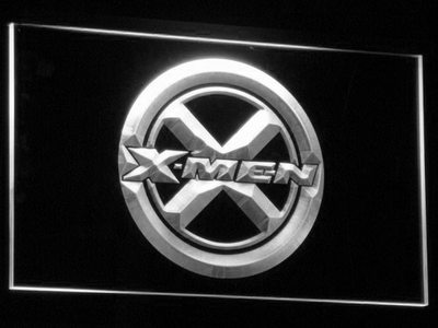 X-Men LED Neon Sign - White - SafeSpecial