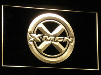 X-Men LED Neon Sign - Yellow - SafeSpecial