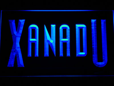 Xanadu LED Neon Sign - Blue - SafeSpecial