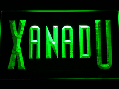 Xanadu LED Neon Sign - Green - SafeSpecial