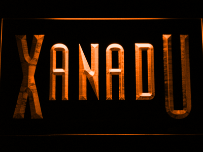 Xanadu LED Neon Sign - Orange - SafeSpecial