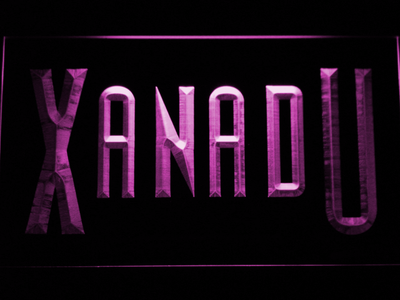 Xanadu LED Neon Sign - Purple - SafeSpecial