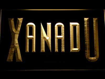 Xanadu LED Neon Sign - Yellow - SafeSpecial