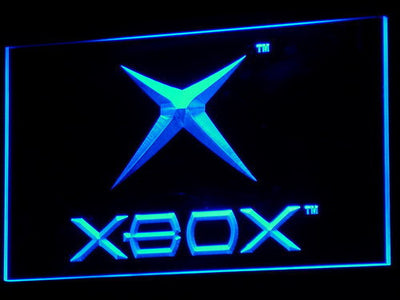 Xbox LED Neon Sign - Blue - SafeSpecial