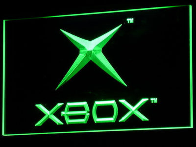 Xbox LED Neon Sign - Green - SafeSpecial