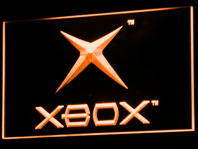 Xbox LED Neon Sign - Orange - SafeSpecial