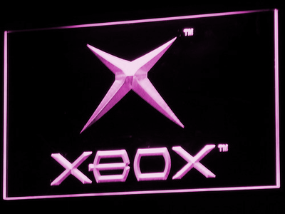 Xbox LED Neon Sign - Purple - SafeSpecial