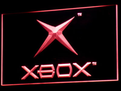 Xbox LED Neon Sign - Red - SafeSpecial