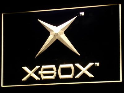 Xbox LED Neon Sign - Yellow - SafeSpecial