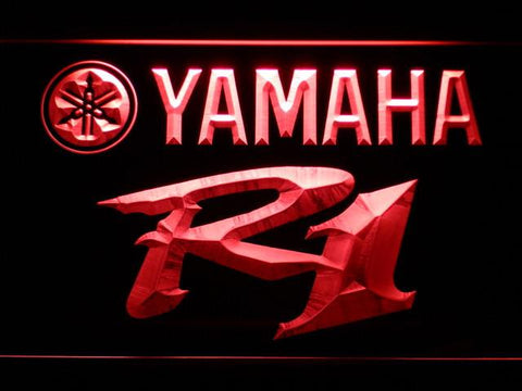 Image of Yamaha R1 LED Neon Sign - Red - SafeSpecial