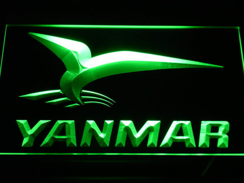 Yanmar LED Neon Sign - Green - SafeSpecial