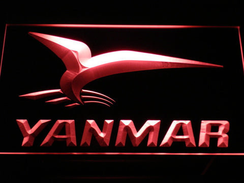 Yanmar LED Neon Sign - Red - SafeSpecial