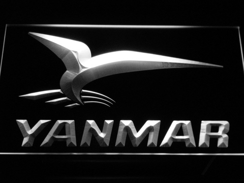 Yanmar LED Neon Sign - White - SafeSpecial