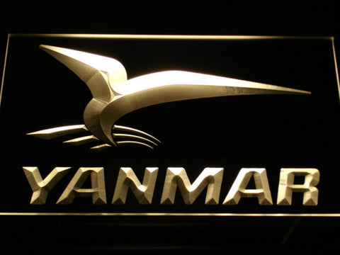 Yanmar LED Neon Sign - Yellow - SafeSpecial