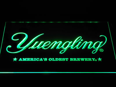 Yuengling America's Oldest Brewery LED Neon Sign - Green - SafeSpecial