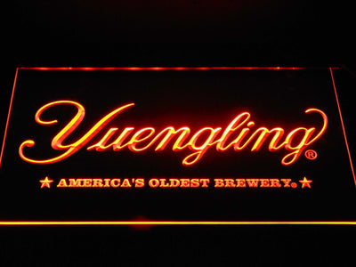 Yuengling America's Oldest Brewery LED Neon Sign - Orange - SafeSpecial