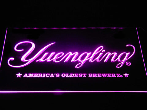 Image of Yuengling America's Oldest Brewery LED Neon Sign - Purple - SafeSpecial