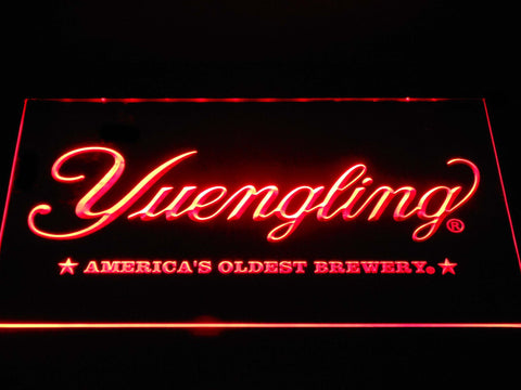 Image of Yuengling America's Oldest Brewery LED Neon Sign - Red - SafeSpecial