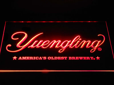 Yuengling America's Oldest Brewery LED Neon Sign - Red - SafeSpecial