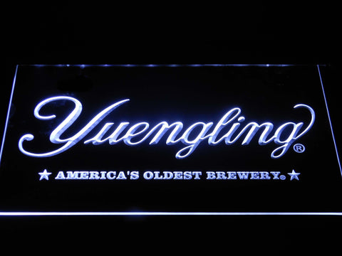 Image of Yuengling America's Oldest Brewery LED Neon Sign - White - SafeSpecial