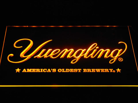 Image of Yuengling America's Oldest Brewery LED Neon Sign - Yellow - SafeSpecial
