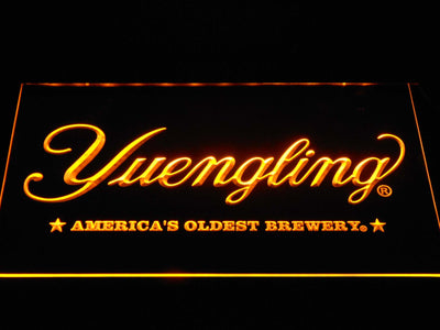 Yuengling America's Oldest Brewery LED Neon Sign - Yellow - SafeSpecial
