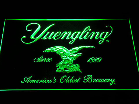 Image of Yuengling LED Neon Sign - Green - SafeSpecial