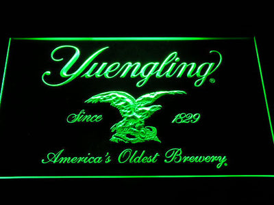 Yuengling LED Neon Sign - Green - SafeSpecial