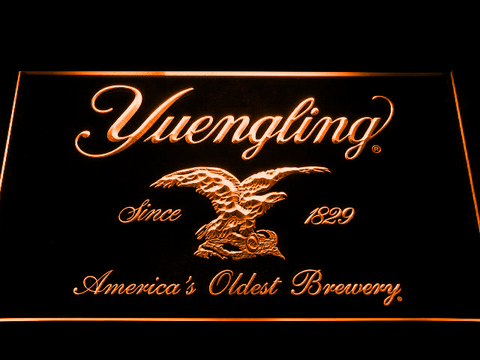 Image of Yuengling LED Neon Sign - Orange - SafeSpecial